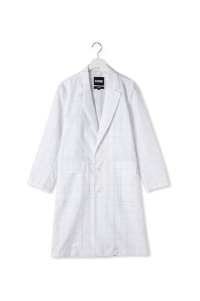 SCOTCH RAIN COAT(White)