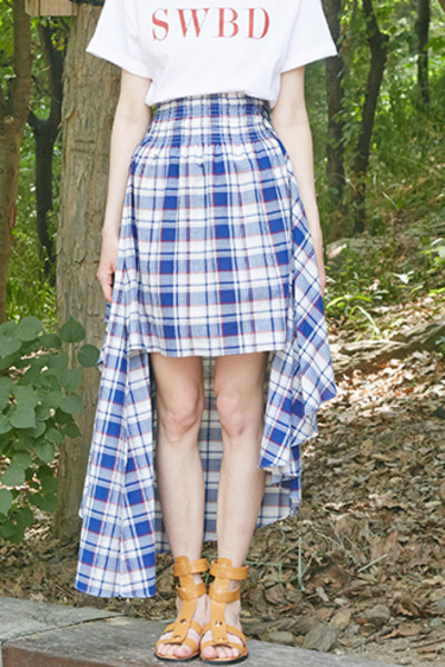 3WAY GATHER SKIRT (MIX)